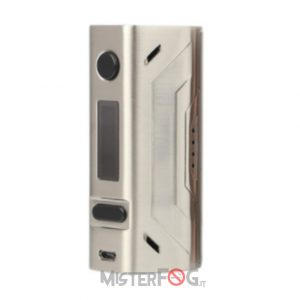 smoant battlestar box mod 200w stainless steel