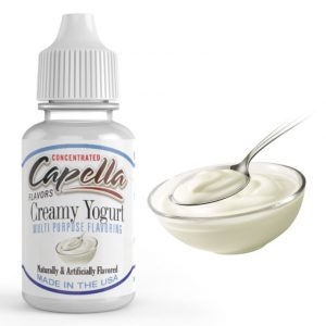 capella aroma creamy yogurt