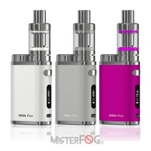 eleaf istick pico 75w tc kit con melo 3 mini 10