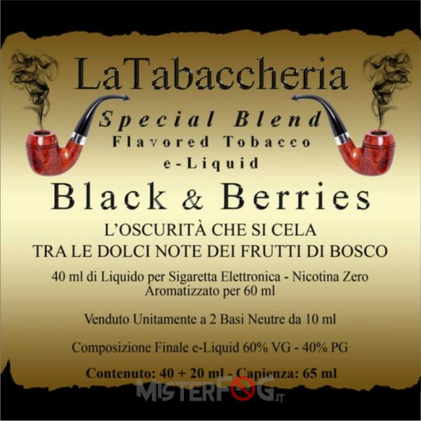 la tabaccheria aroma black berries