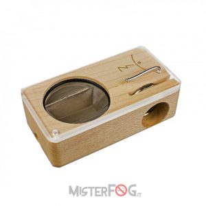 magic flight vaporizzatore launch box in legno