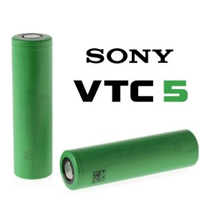 sony batteria vtc5 30a 2600mah