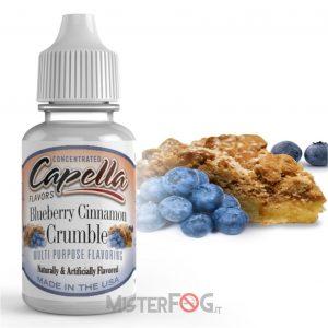 capella aroma blueberry cinnamon crumble