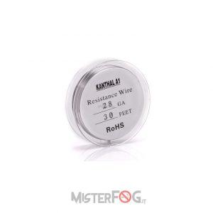 mister fog filo ss316l 28 gauge awg 0,32mm