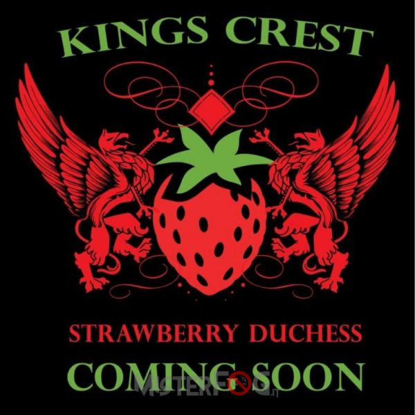 king crest aroma strawberry dutches