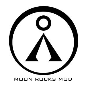 logo moon rocks mod