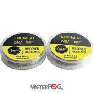 coil art filo kanthal a1 24 gauge awg 0.51mm