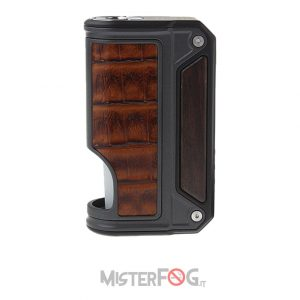lost vape therion bf dna75c wood and crown bull