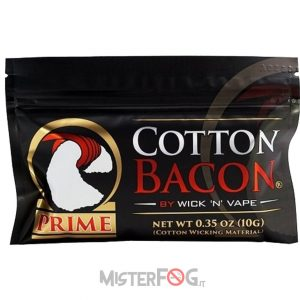 wick n vape cotone cotton bacon prime 10g 2