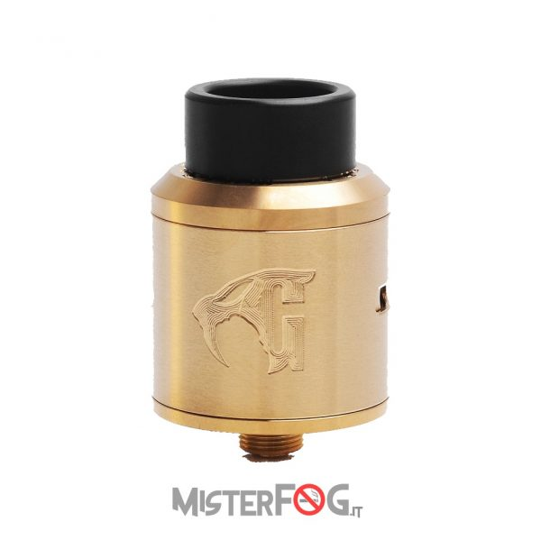 528 custom vape goon 1.5 rda 24 gold 4