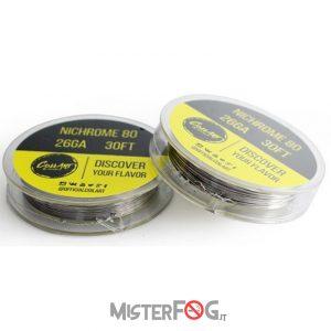 coil art filo nichrome 26 gauge awg 0.40mm
