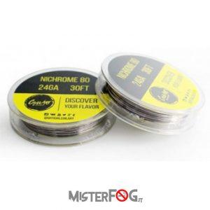 coil art filo nichrome 28 gauge awg 0.32mm