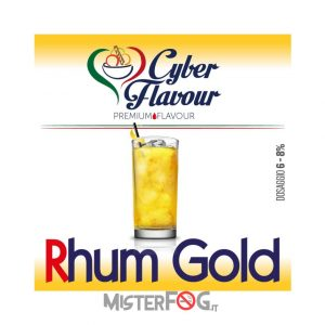 cyber flavour aroma rhum gold