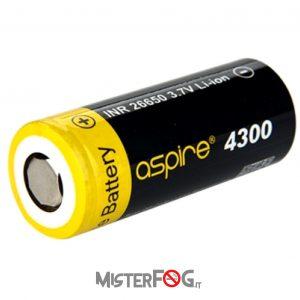 aspire batteria 26650 40a