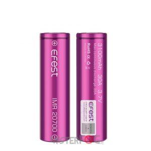 efest batteria imr 20700 3100 mah